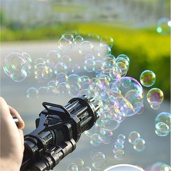 Obrovské množstvo mydlových bublín image